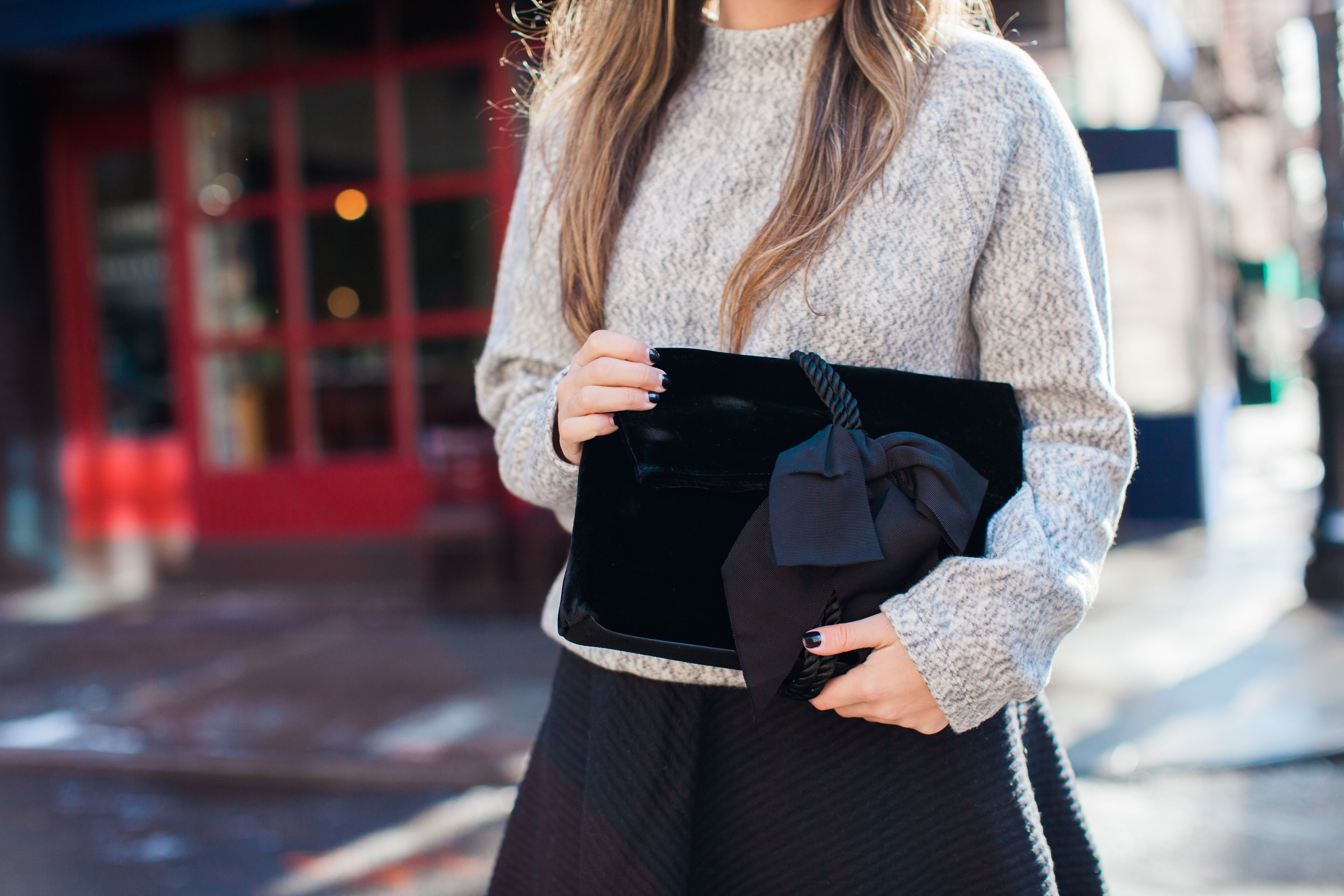 Styling A Sweater With A Skirt
