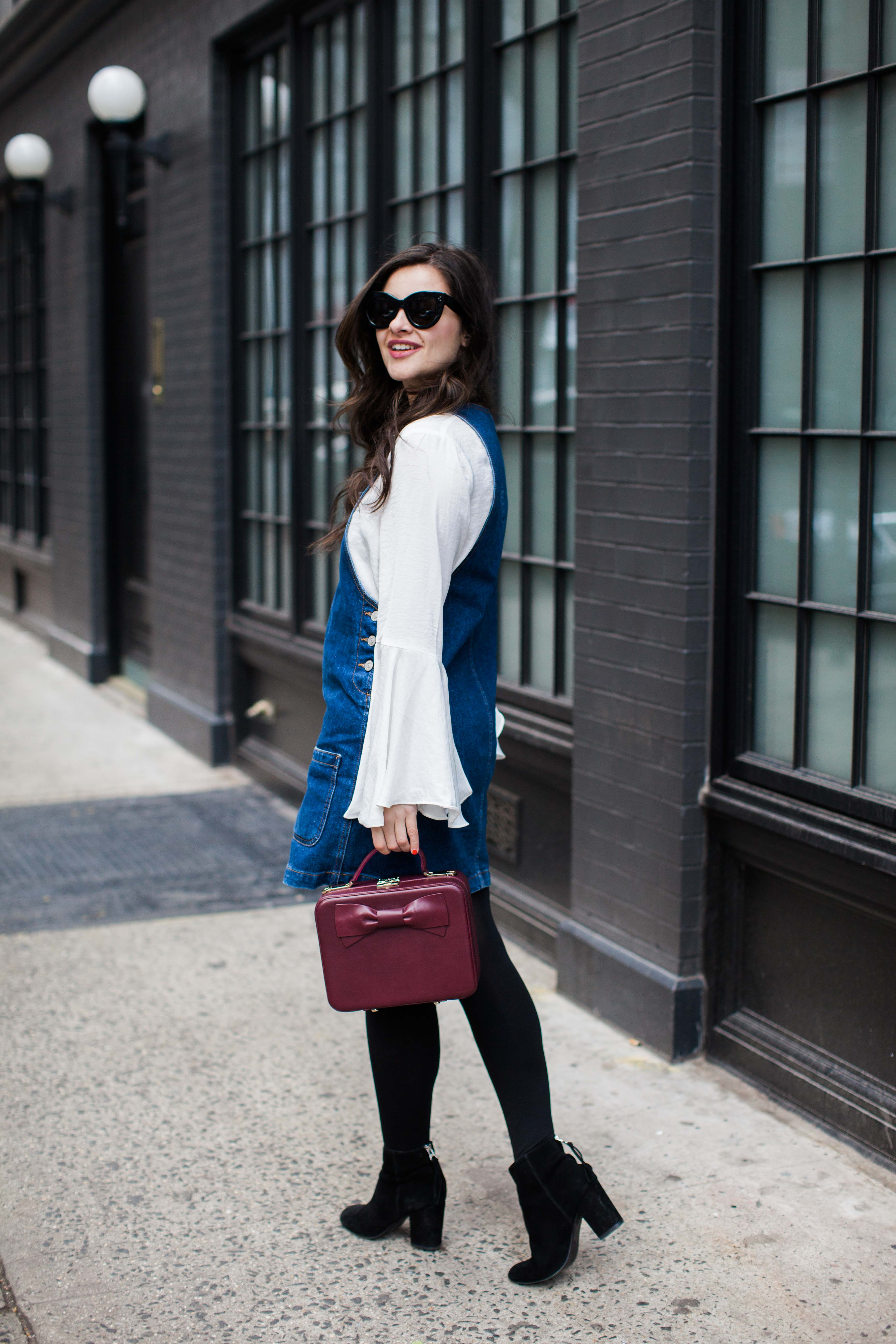 The Bell Sleeve Top | How I Re-wear My Favorite Pieces by fashion blogger Dana from Pink Champagne Problem