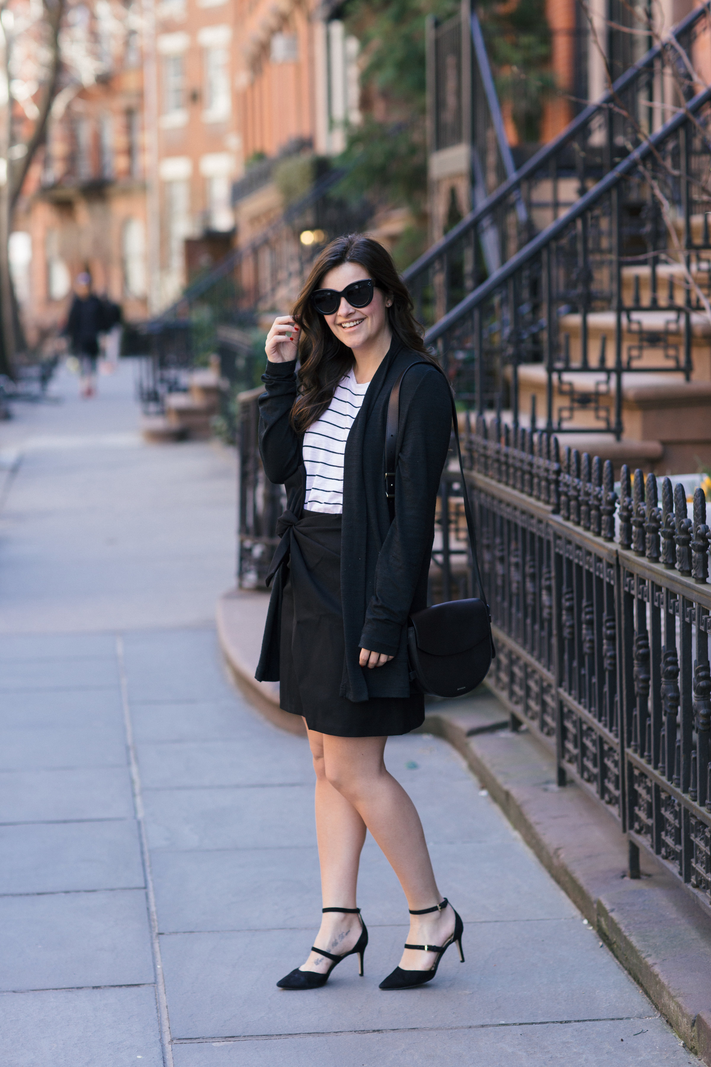 """Work Outfit Ideas: The """"Sort Of Perfect For The Corporate World"""" Outfit by NYC fashion blogger Dana of Pink Champagne Problems"""