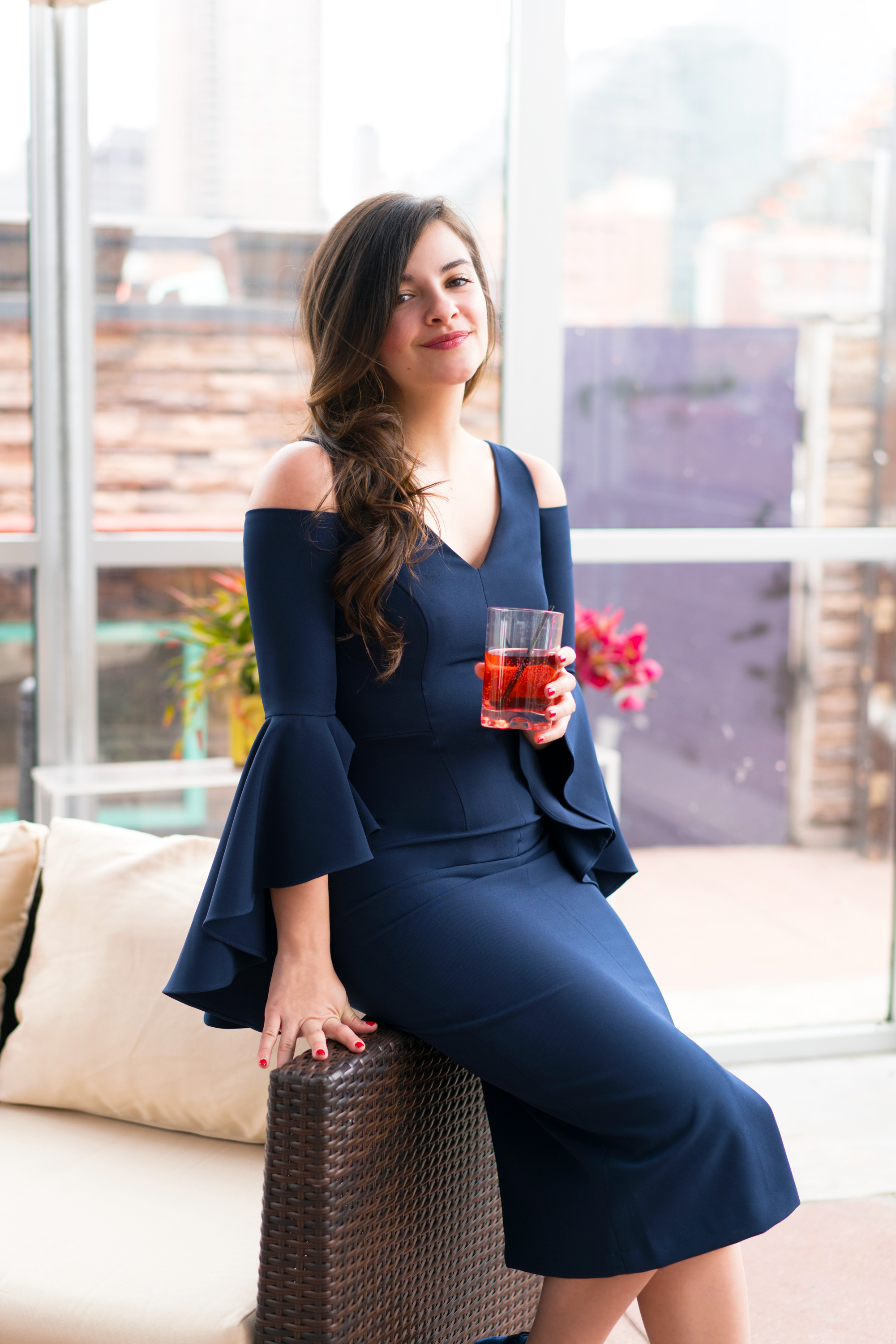 The Perfect New York Spring With Maggy London Special Occasion Dresses by NYC fashion blogger Dana of Pink Champagne Problems