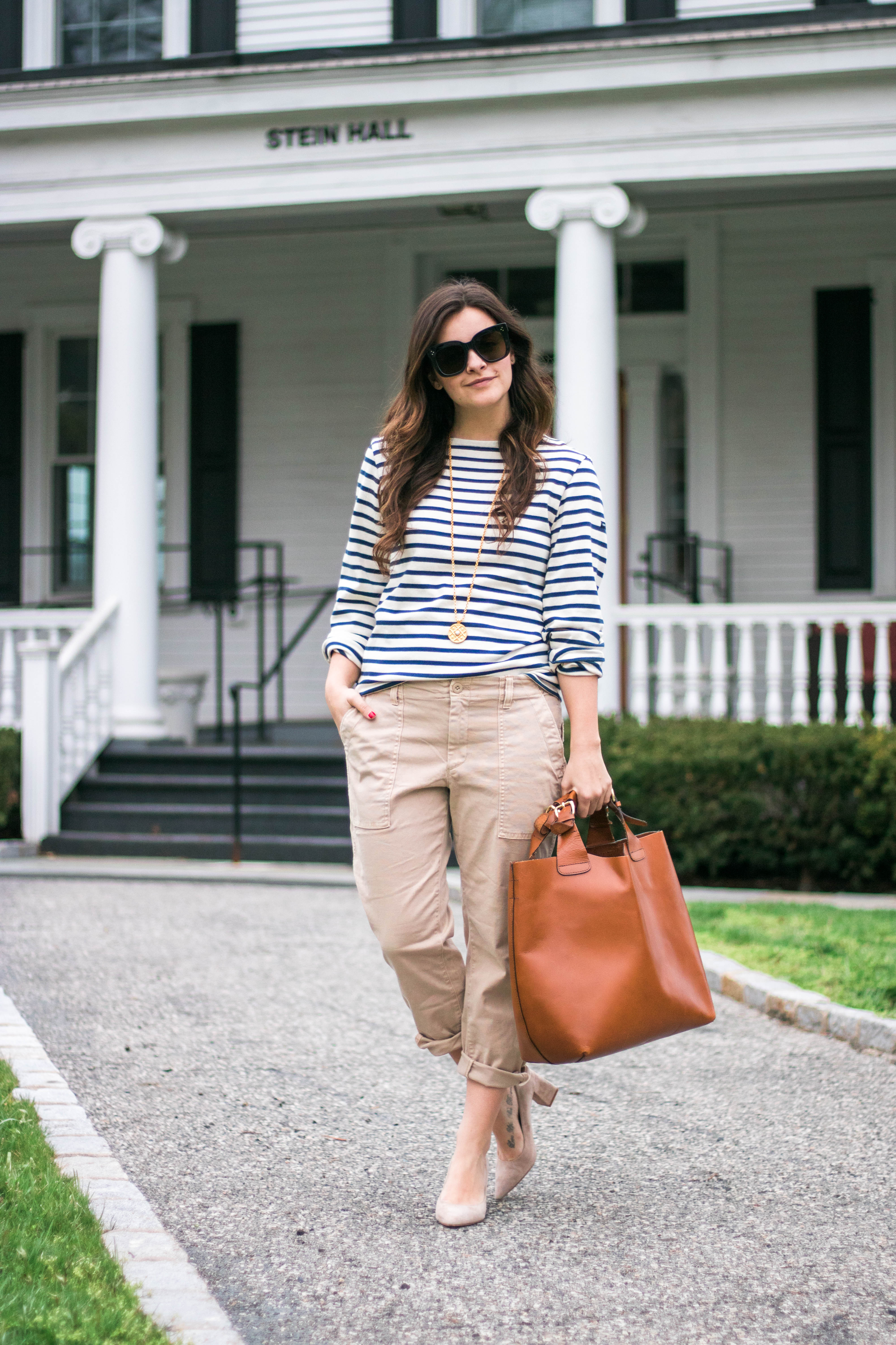 How To Style Boyfriend Chinos