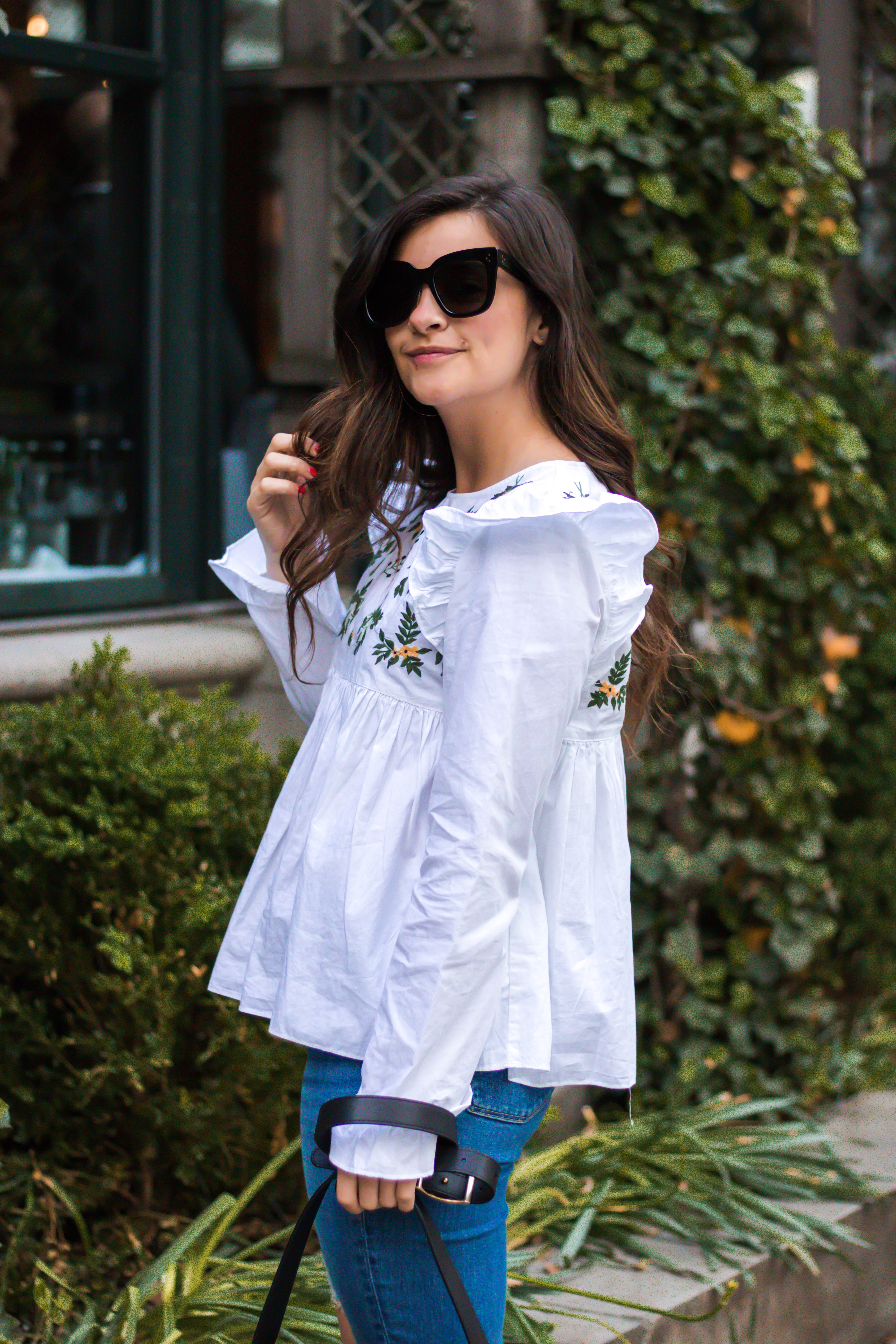 Embroidery Trend 2017: Tops