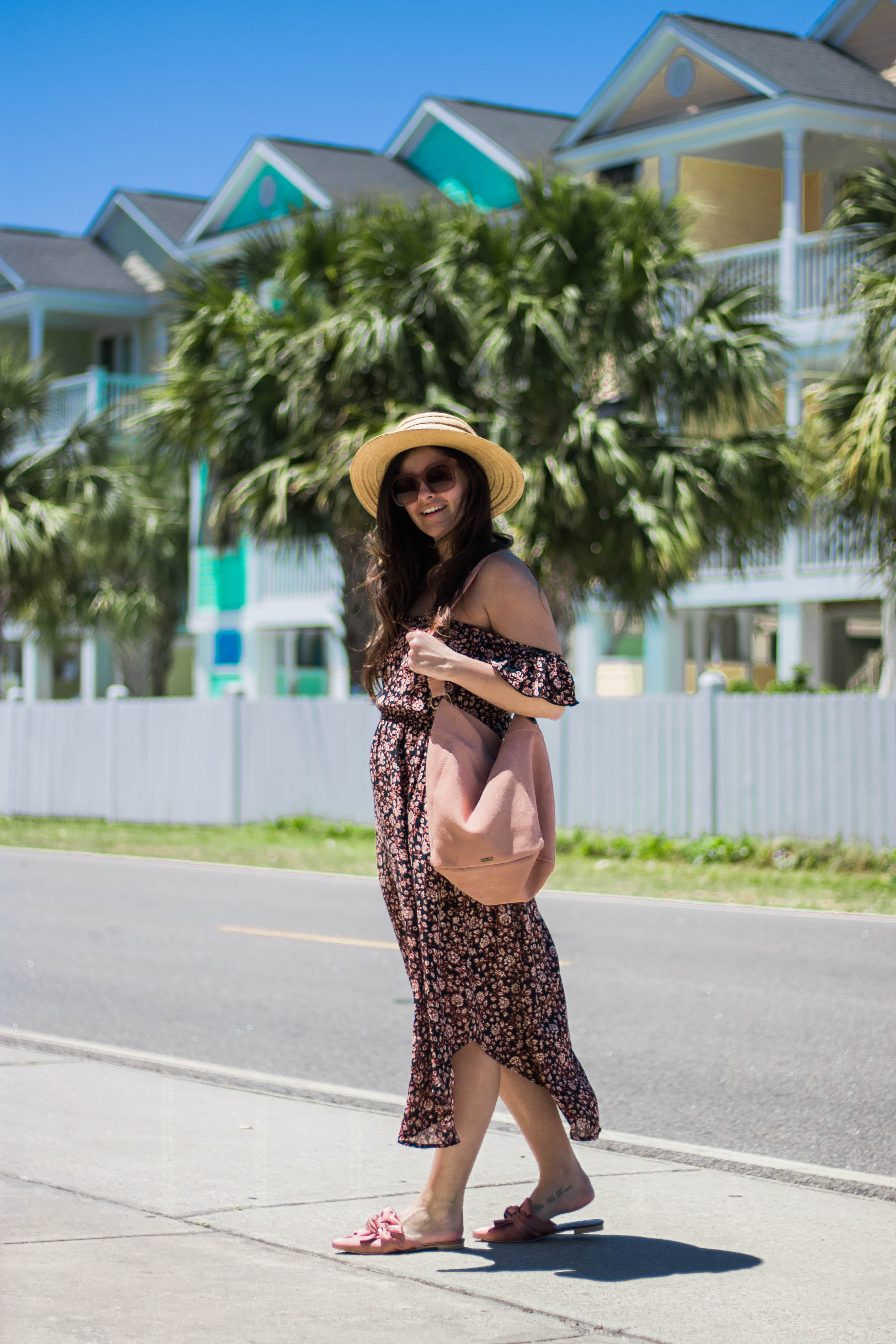 How To Wear A Midi Dress When You're Short