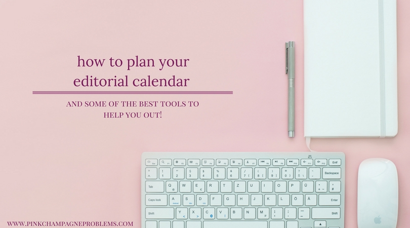 How I Use An Editorial Calendar