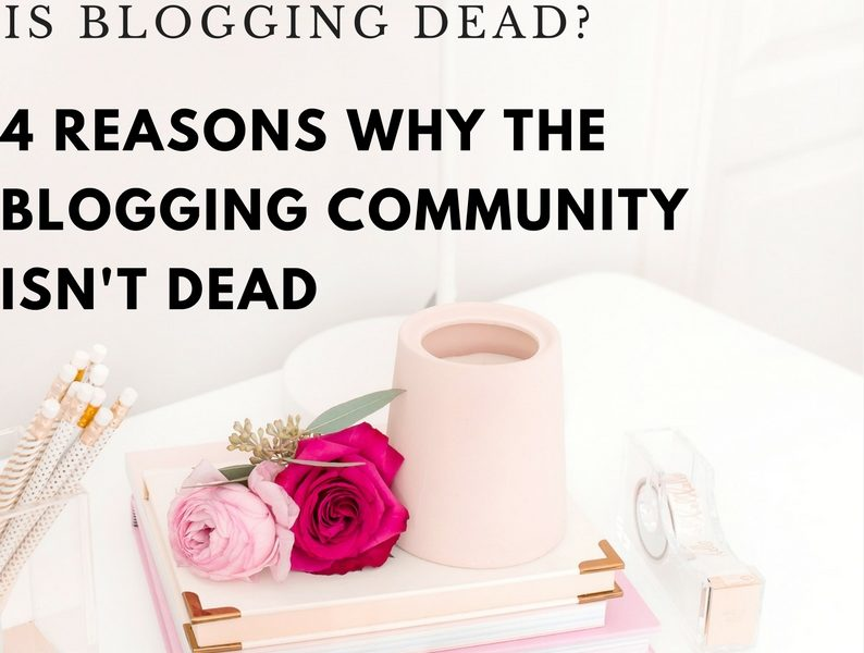 Is Blogging Dead? & The Future Of Blogging